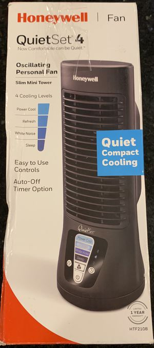 Honeywell Oscillating Personal Mini Tower Fan for Sale in Davie, FL