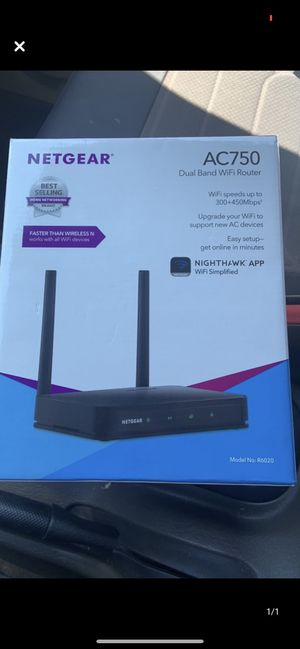 Netgear Dual Band WIFI Router for Sale in Anaheim, CA