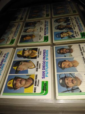 Baseball card collection for Sale in Phoenix, AZ