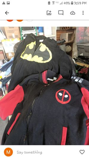 Batman and Deadpool Hoodie for Sale in North Las Vegas, NV