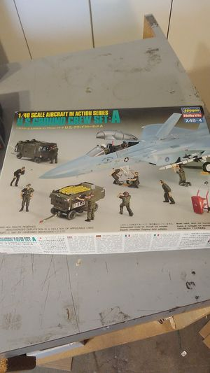 Hasegawa 1/48 scale aircraft for sale  action series U.S. ground crew set A for Sale