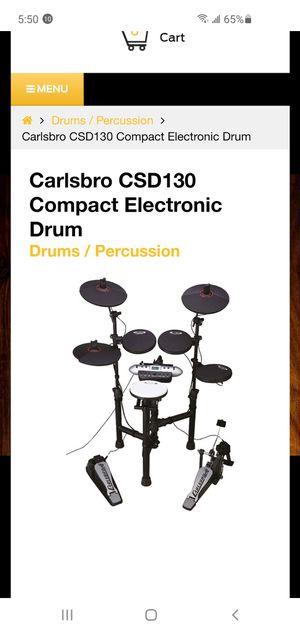 Carlsbro kids drum set for Sale in Chula Vista, CA