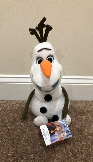 Olaf plush for Sale in Woodbridge, VA