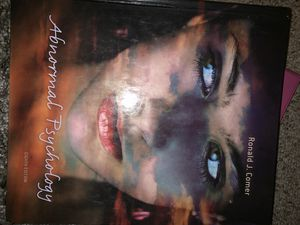 Abnormal Psychology - Ronald Comer 8th Edition Textbook for Sale in Rockville, MD