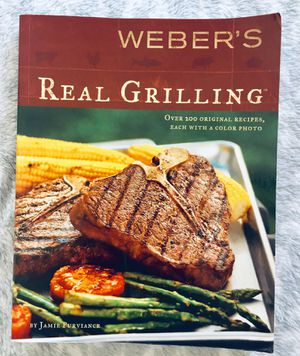 Weber Real Grilling Cookbook for Sale in Kansas City, MO