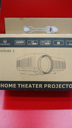 VANKYO LEISURE 3 Mini Projector, 1080P 170'' Display Supported, Portable White for Sale in Kent, WA