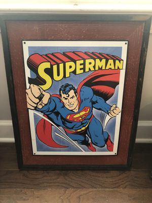 Superman Wall Decor for Sale in Nashville, TN