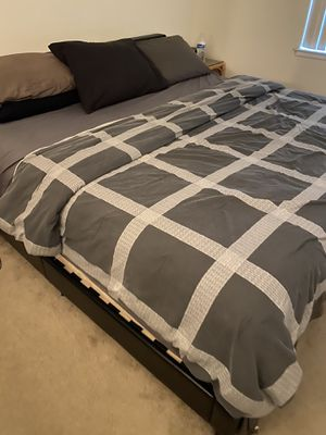 King size bed frame & mattress!! for Sale in San Jose, CA