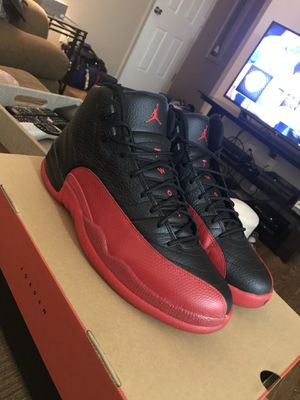 79cebfa9283 Nike Air Jordan Retro 12 Flu Games for Sale in West Allis