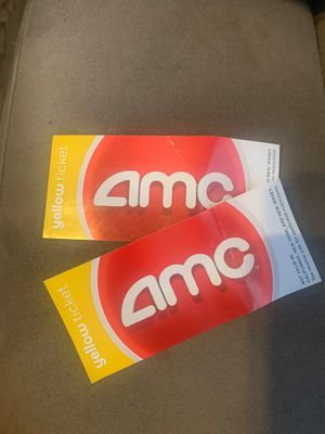 Two AMC tickets for Sale in Oviedo, FL