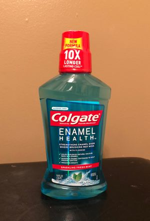 Colgate enamel health mouthwash for Sale in Hamburg, NY