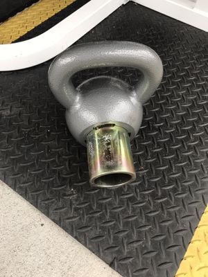 Rocketlok adjustable kettle bell only 2 adjustments 24lbs and 28lbs for Sale in White Settlement, TX