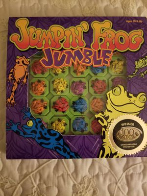 Jumpin Frog challenging tile puzzle game for Sale in Fallbrook, CA