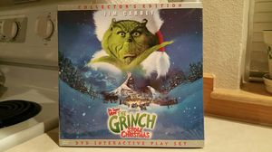 Dr. Suess' How The Grinch Stole Christmas Collector's Edition: DVD Interactive Play Set for Sale in Lynnwood, WA