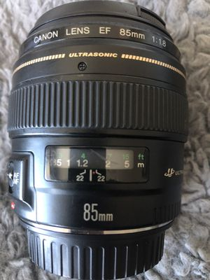 Canon EF 85mm f/1.8 USM Lens for Sale in Oakland, CA