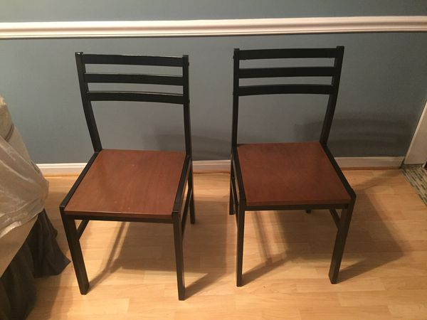 Small Fold out Table with shelf and Chairs