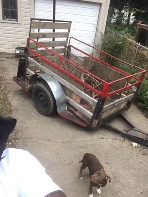 Trailer for sale need gone ASAP askin 400 obo for Sale in Redford Charter Township, MI