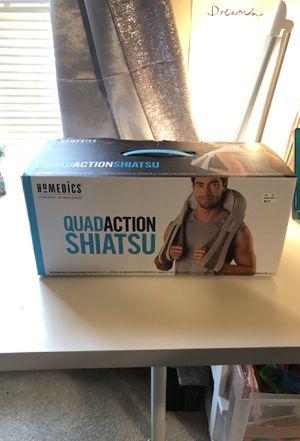 Homedics Quad-action Shiatsu neck and shoulder massager with heat for Sale in Arlington, VA