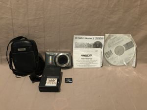 Like new hardly used Olympus Stylus brand digital camera with SIM card for Sale in Vacaville, CA