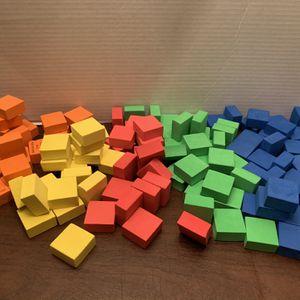 Colorful Foam Blocks Kids Boys Girls Toy for Sale in San Diego, CA