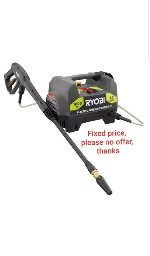 Ryobi 1,600 PSI 1.2 GPM Electric Pressure Washer for Sale in Upper Marlboro, MD