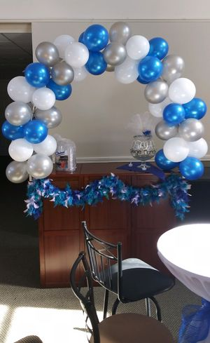 Balloon Arch + 3 easels for Sale in Walpole, MA