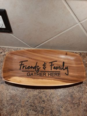 Decorative wood tray for Sale in Saginaw, TX