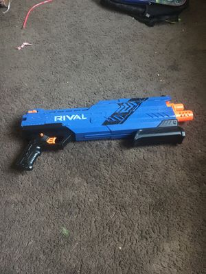 A rival nerf gun with loudness for Sale in Acampo, CA