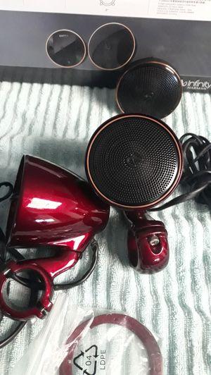 Harley-Davidson Infinity Kappa crash bar speakers for Sale in Victorville, CA