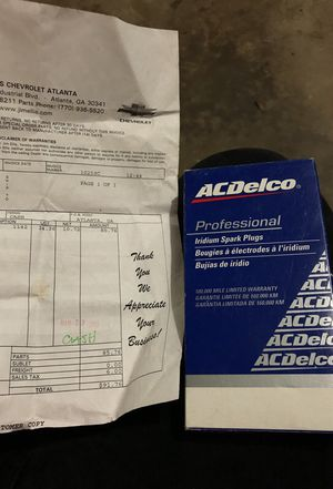 2004 Chevy avalanche spark plugs OEM for Sale in Duluth, GA