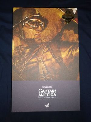 Hot Toys Captain America Rescue Version for Sale in Lakewood, CA