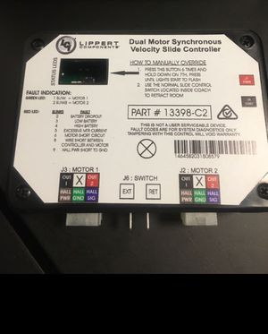 014-211852 controller in wall RV SlideV-SYC||/AP products for Sale in Ontario, CA