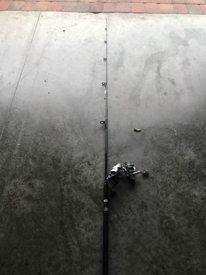Fresh water, fishing rod and 2 reels for Sale in Orlando, FL