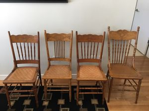 Four antique chairs ($20 each) for Sale in Denver, CO