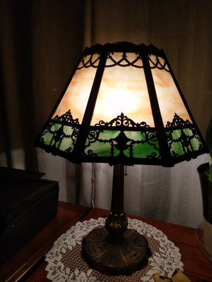 Antique slag glass lamp 1920's for Sale in Marysville, WA