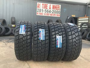 """17"""" 18"""" 20"""" 22"""" 24"""" 26"""" MUD TIRES WE OFFER FINANCE 33"""" 35"""" 37"""" 40"""" IN STOCK WE OFFER FINANCE for Sale in Houston, TX"""