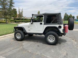 2001 Jeep TJ Wrangler for Sale in Menifee, CA
