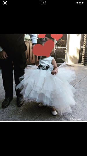 Champagne Hi Low Girl's Dress Flower Girl for Sale in Anaheim, CA