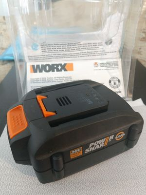WORX and Rockwell original 20 Volt 4 Ah Lithium Battery. Brand new for Sale in Fort Lauderdale, FL