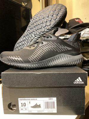 Adidas Alphabounce Xeno Triple Black for Sale in Hemet, CA