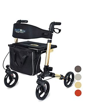 Roller walker with padded seat NEW for Sale in Lakewood, CA