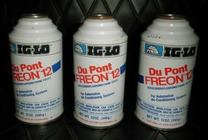 (3) 12oz Cans of DuPont Freon R12 Refrigerant ~ for Automotive Air Conditioning Systems for Sale in Ladson, SC