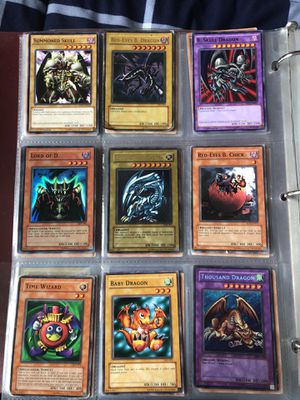 YuGiOh Summoned Skull/ Red-Eyes B. Dragon/ B. Skull Dragon/ Blue Eyes White Dragon/ Baby Dragon Thousand Dragon Time Wizard for Sale, used for sale  Tampa, FL