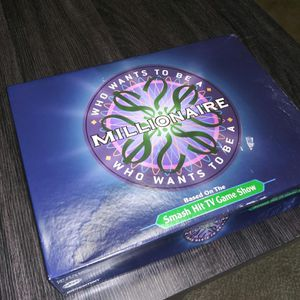 Open Box Game Of 'Who Wants To Be a Millionaire' .. Game Pieces Still Sealed for Sale in Boca Raton, FL