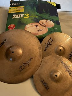 Zilbjian Cymbals Set Used for Sale in Miami,  FL