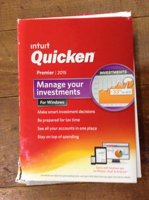 Quicken premier 2015 For $20.00 today for Sale in Homestead, FL