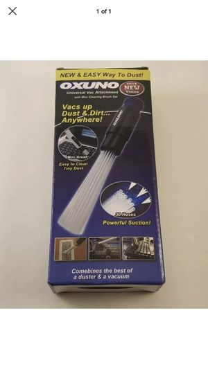 OXUNO Universal Vacuum Attachment Cleaner for Dust Dirt Removal w/ Mini Brush for Sale for sale  Vancouver, WA
