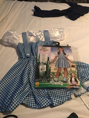 Dorothy Costume size medium 8/10 for age 5-7years for Sale in Queen Creek, AZ