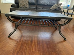 Stone coffee table and side table for Sale in Chandler, AZ