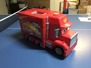 "Cars 3 Macks Mobile Tool Center big Mack truck and McQuine 20"" long for Sale in Kirkland, WA"